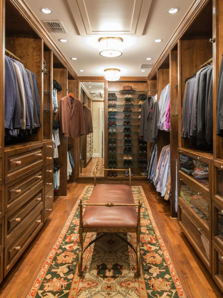 closet addition in Preston Hollow