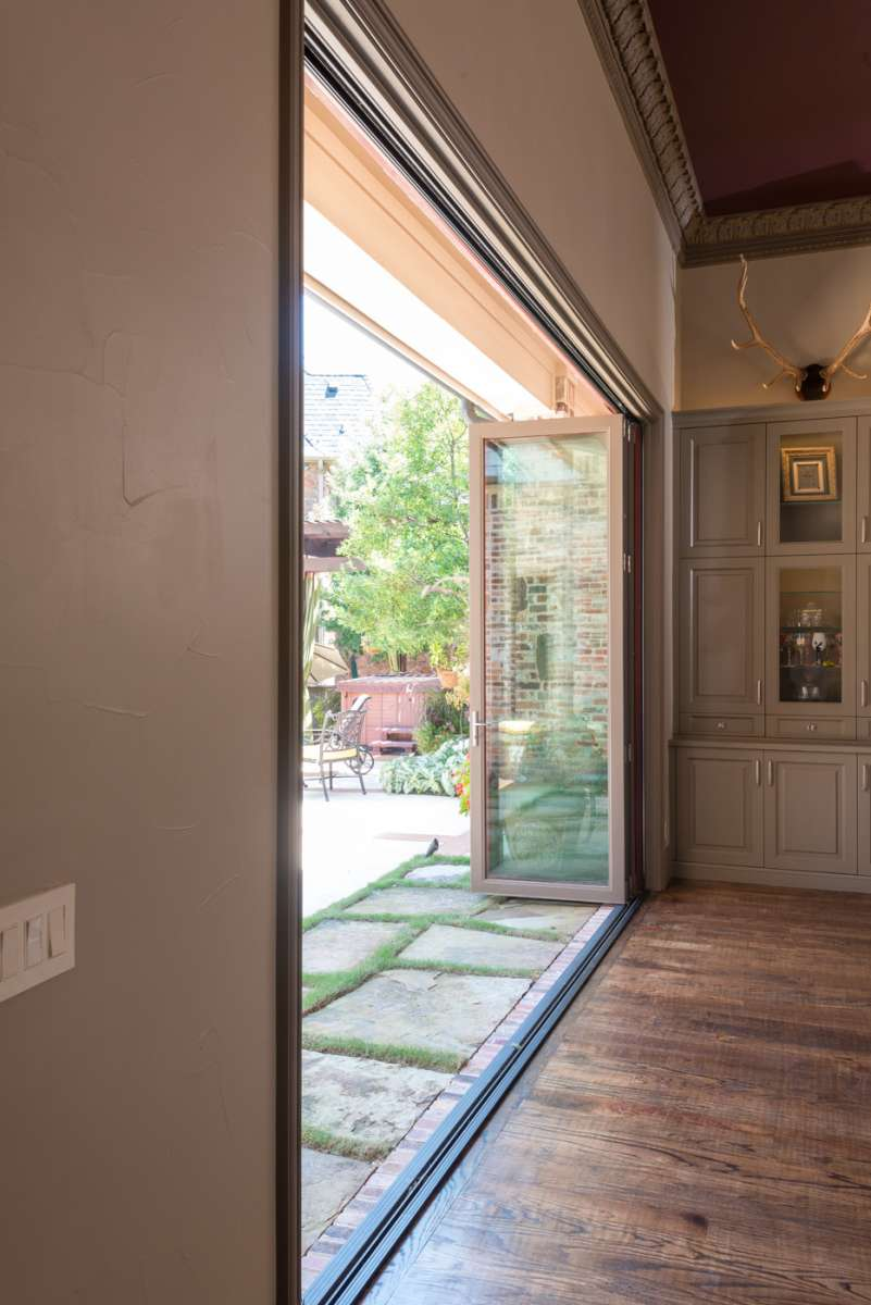 folding patio doors in Southlake