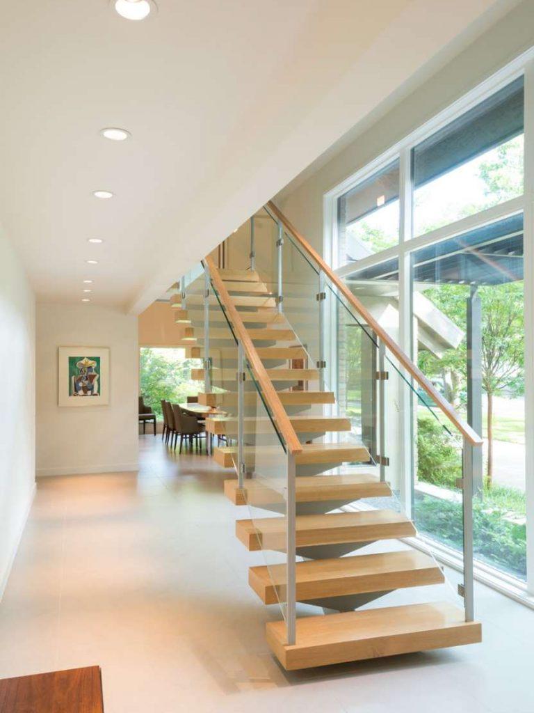 staircase remodel in Preston Hollow