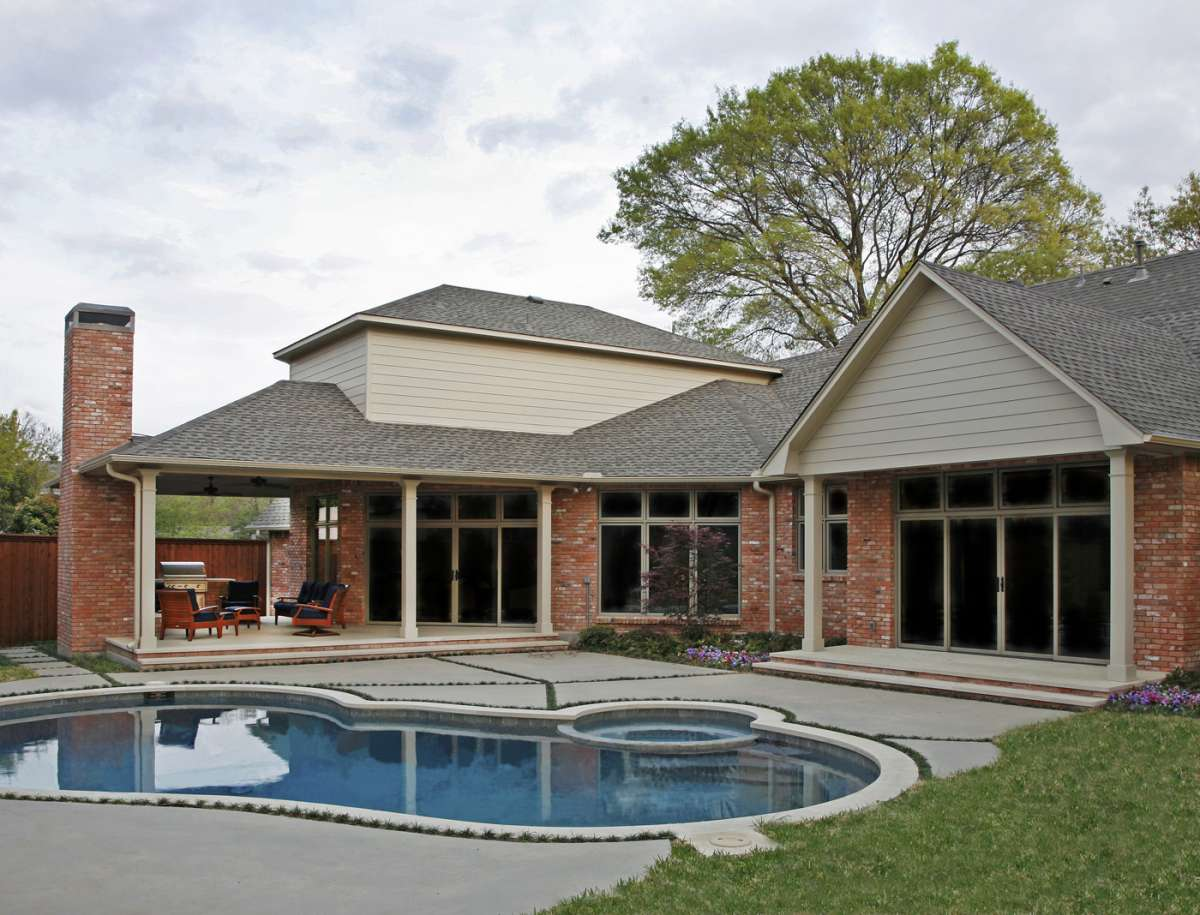 Briar Cove outdoor living addition