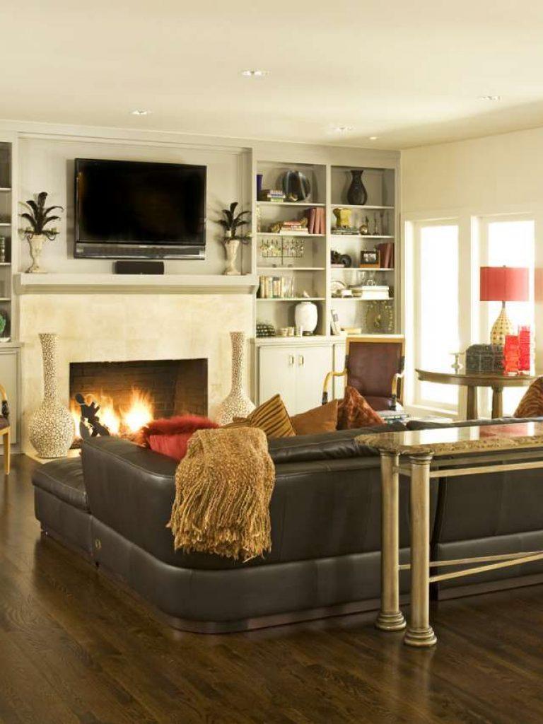 Living Room in Preston Hollow whole house remodel Dallas