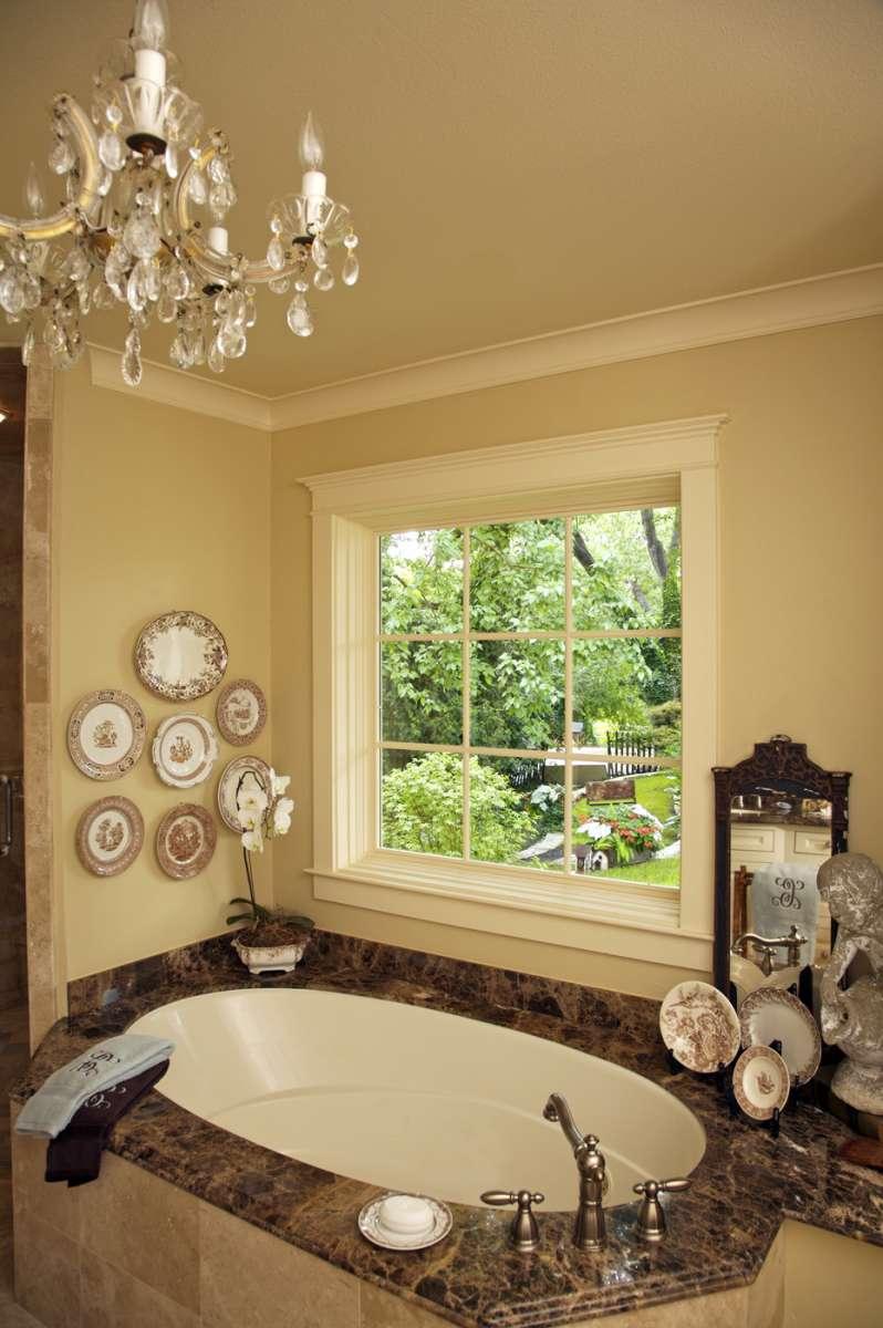 Richardson master bathroom in whole house renovation