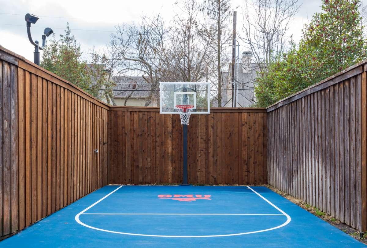SMU basketball court