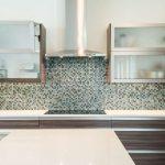 bifold lift up cabinet doors in Dallas kitchen remodel Northwood Hills