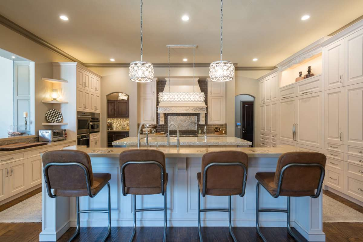 custom cabinets in Southlake kitchen remodel