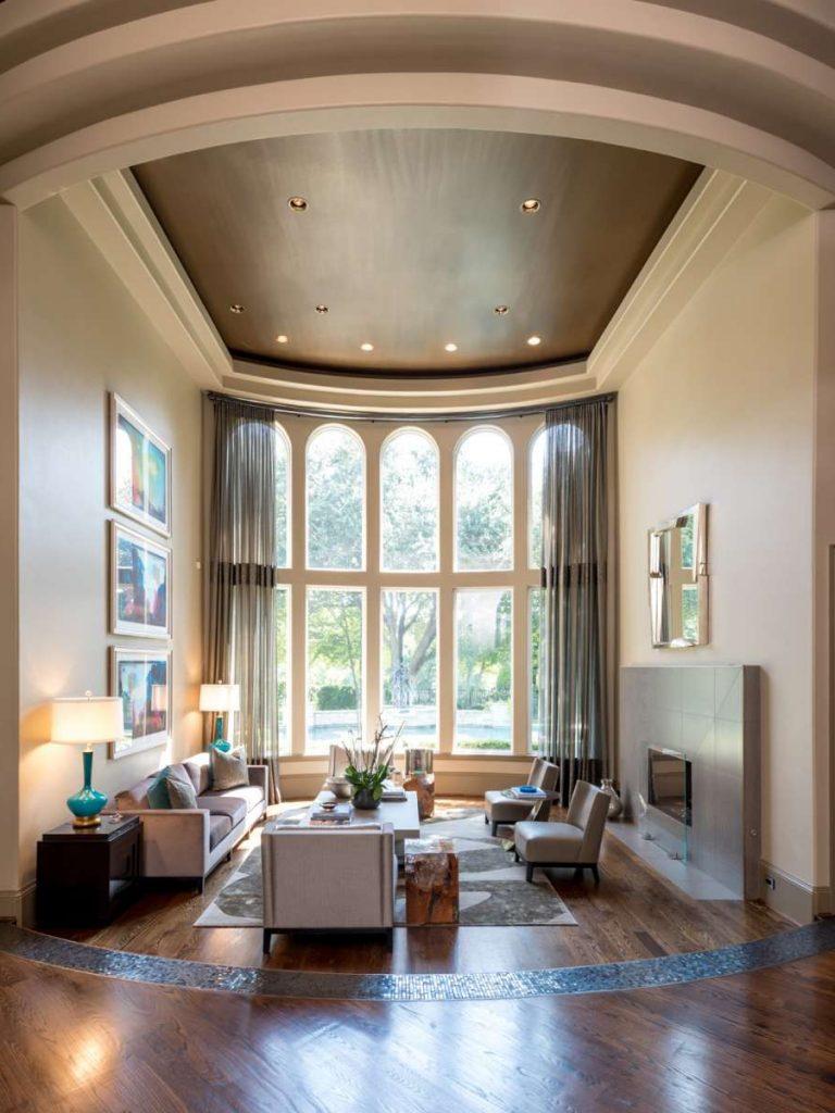 formal living room remodel in plano tx
