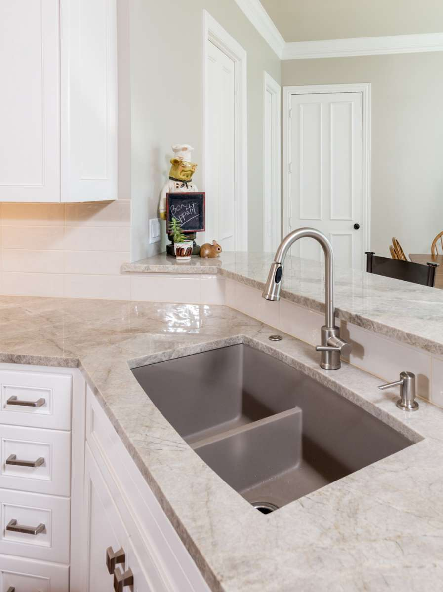 kitchen sink in plano kitchen remodel