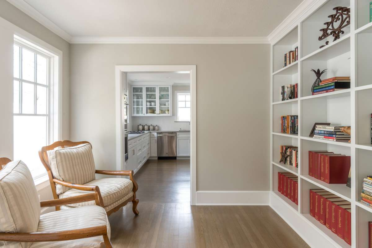 library in dallas whole home remodel