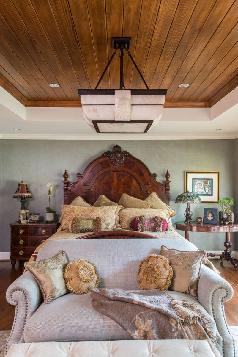 master bedroom in Preston Hollow