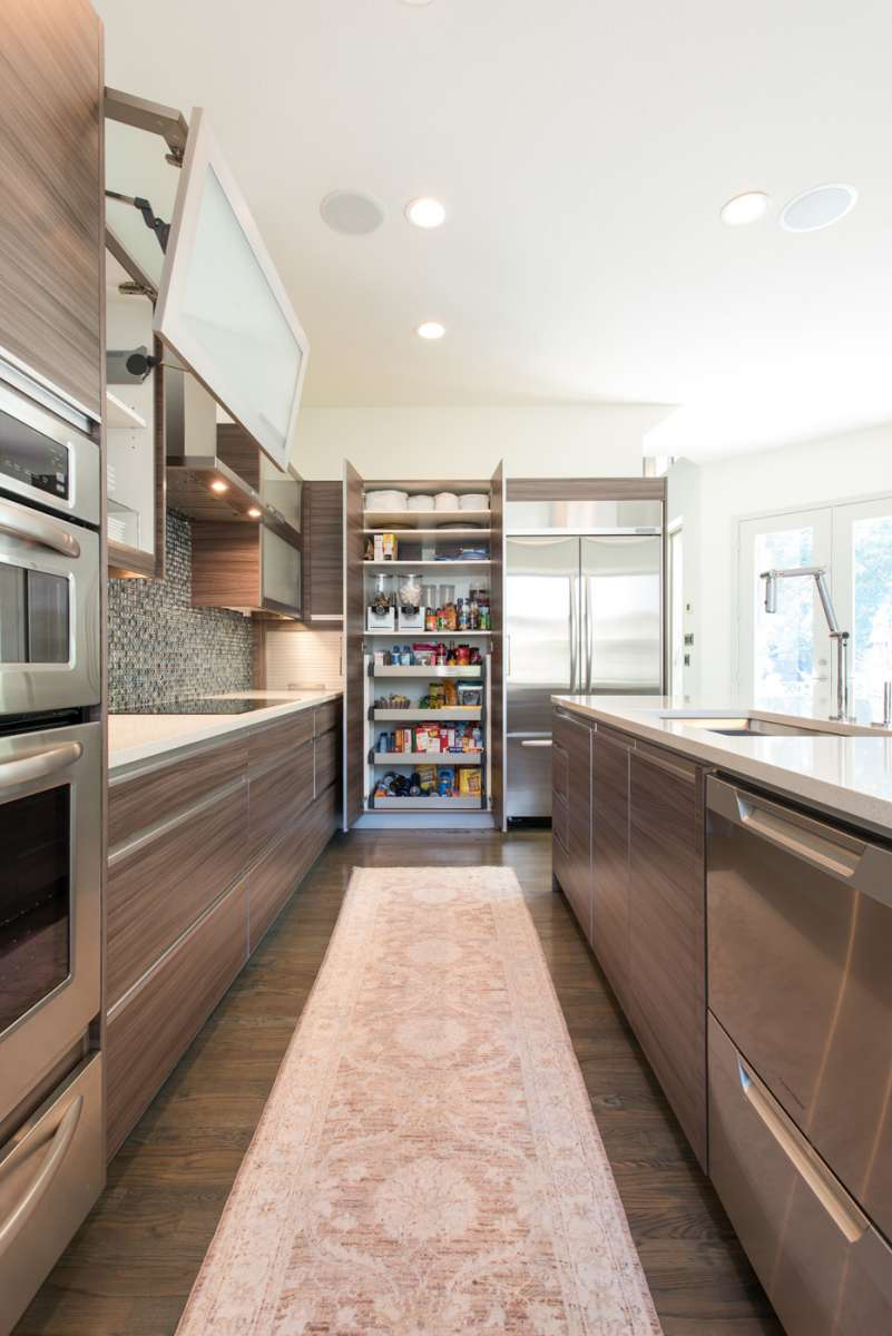pantry cabinet in Dallas kitchen remodel Northwood Hills