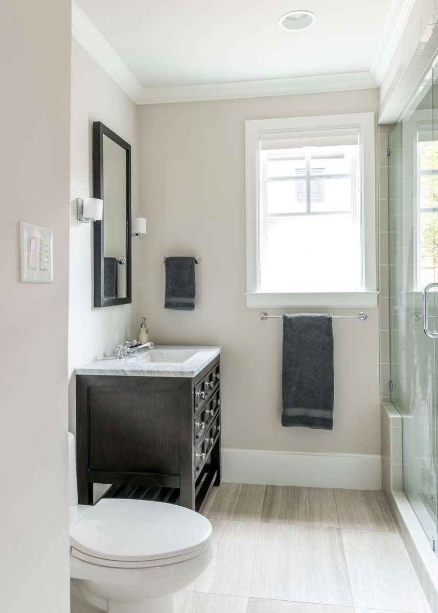 vanity cabinet in dallas bath remodel