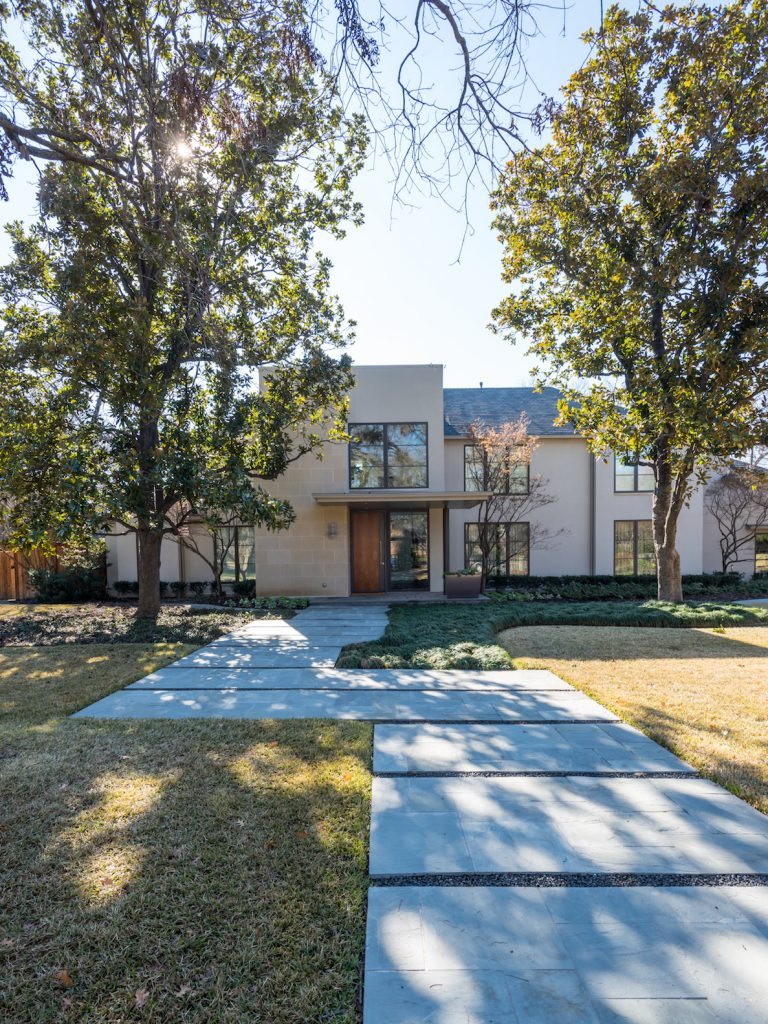 preston hollow exterior remodel