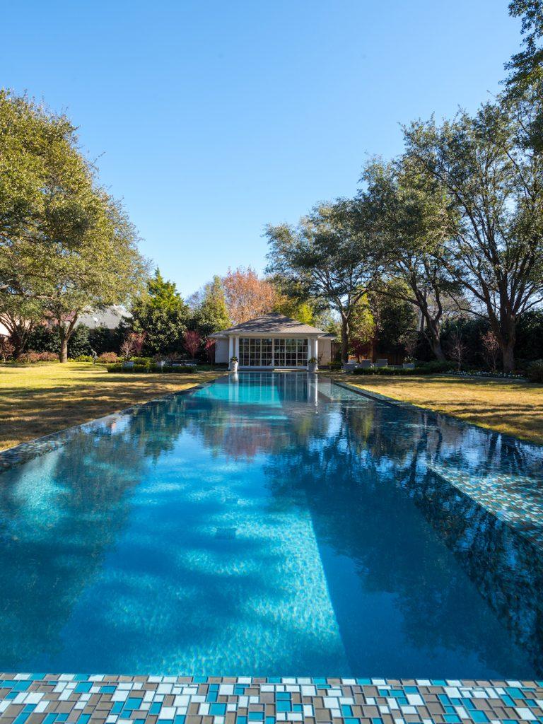 preston hollow pool and cabana