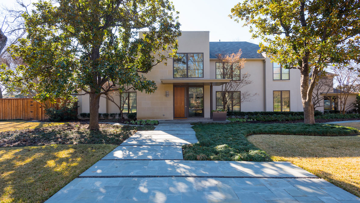 Exterior House Remodel on Palomar Lane in Dallas, Texas