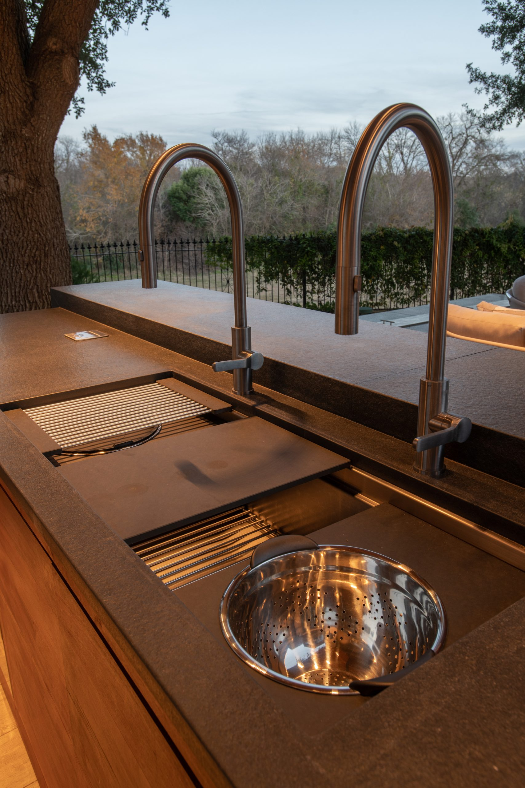 outdoor living galley sink in plano tx