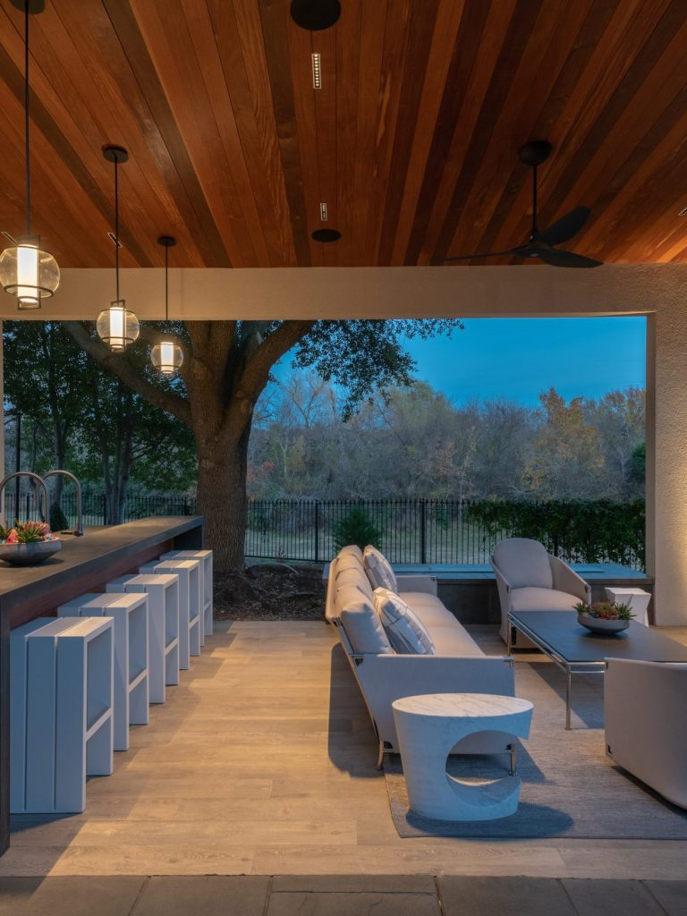outdoor living in Plano