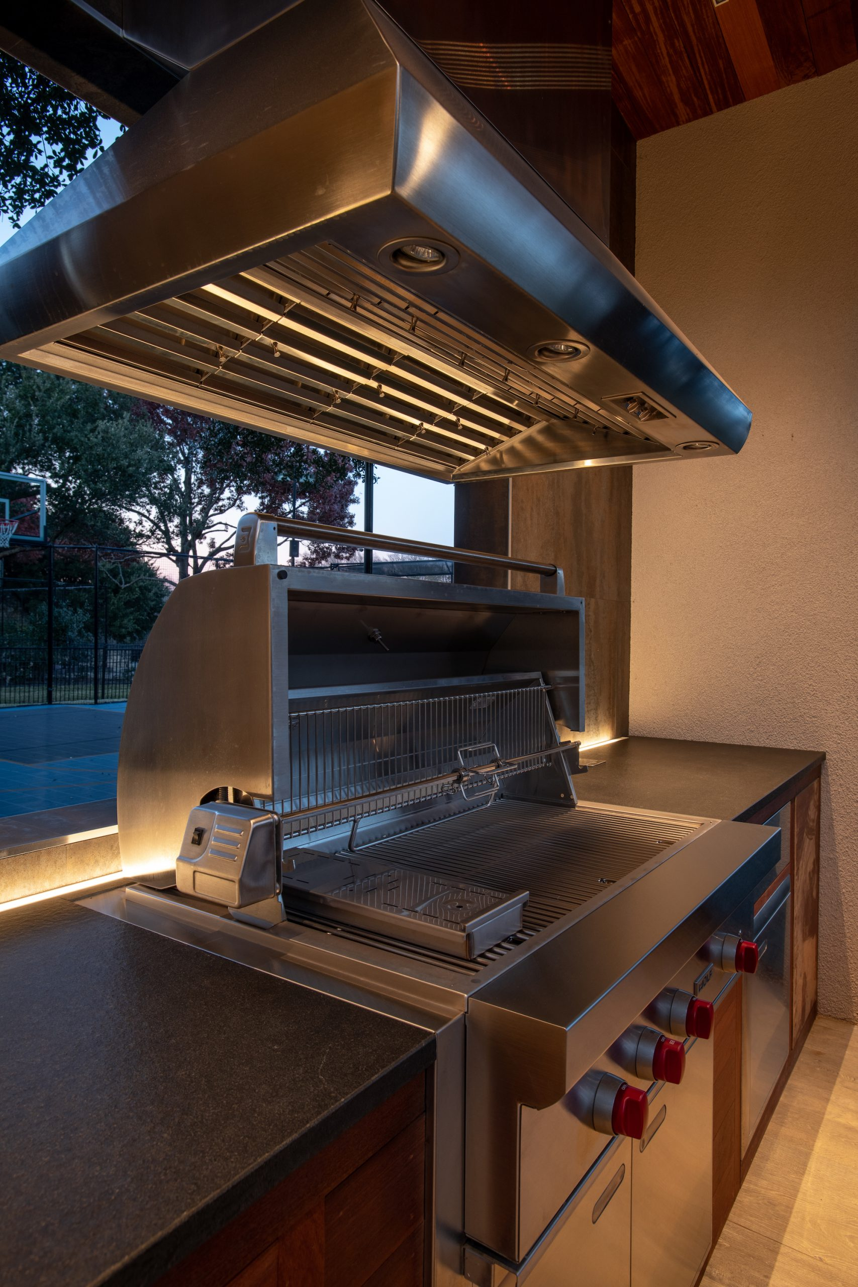 wolf grill in plano outdoor living