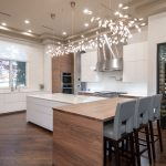 Contemporary Kitchen Remodel with Wine Room in Plano TX