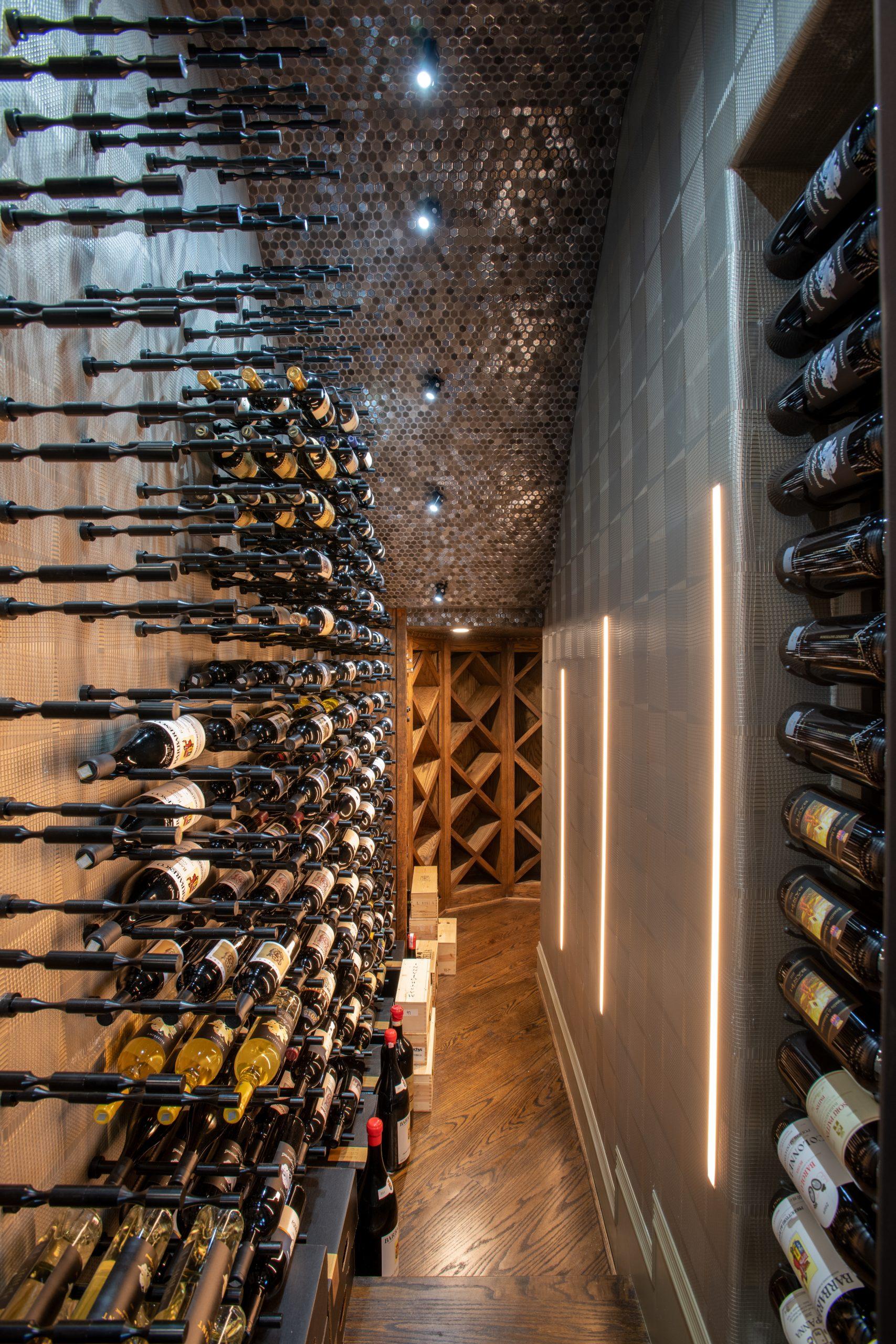 Plano Contemporary Wine Room