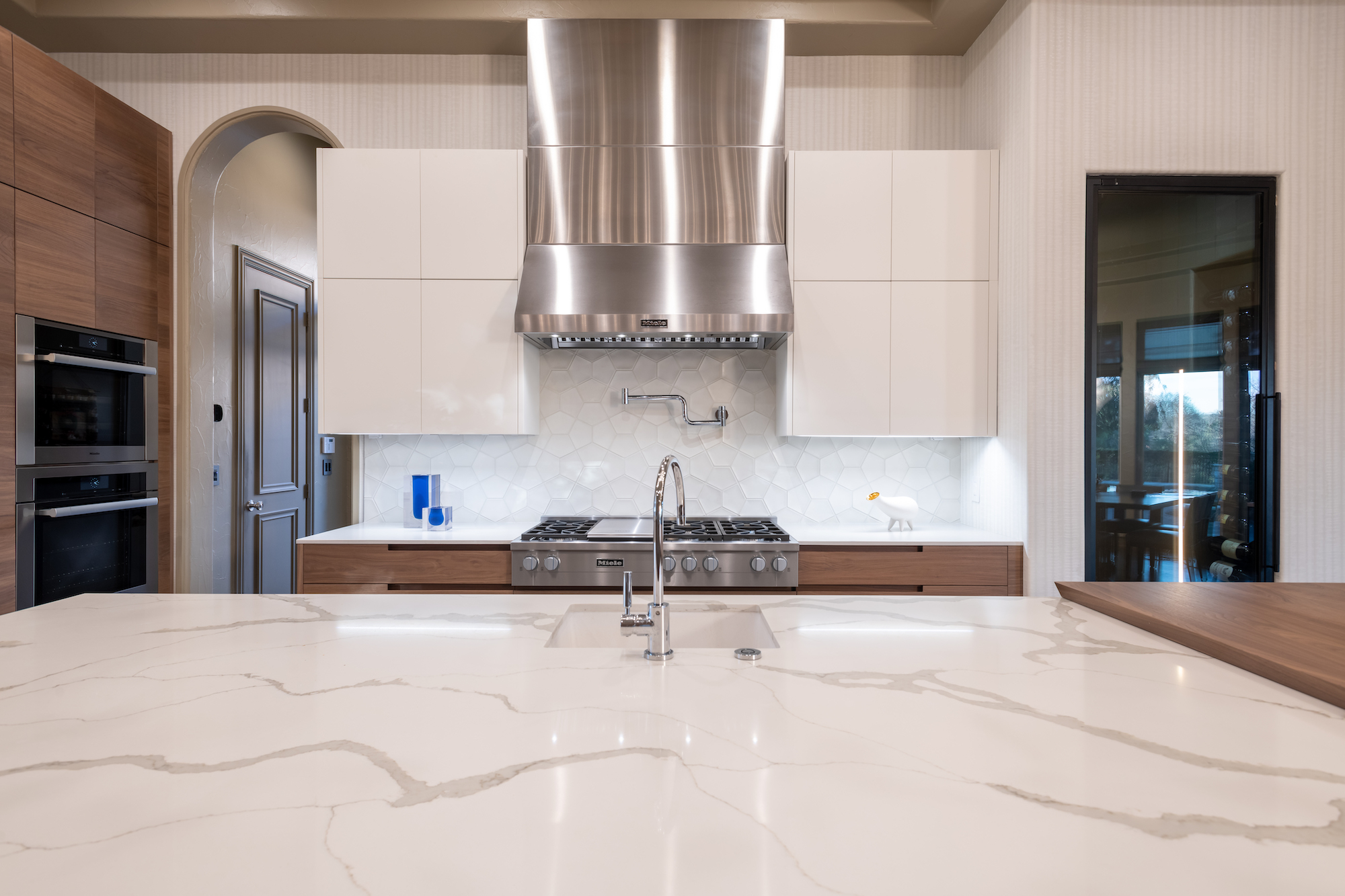 miele appliances in plano kitchen remodel