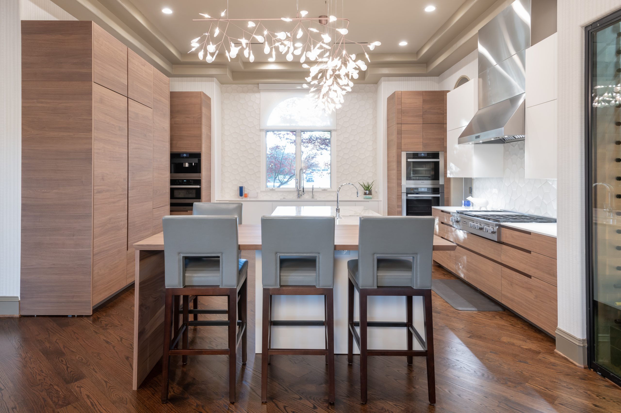 contemporary kitchen remodel in plano tx