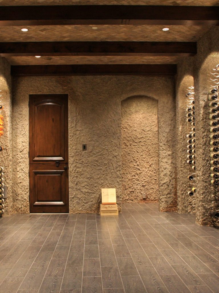 Guest Suite converted to a Wine Room in Plano TX