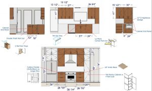 Kitchen Design Plans for North Dallas Kitchen Remodel