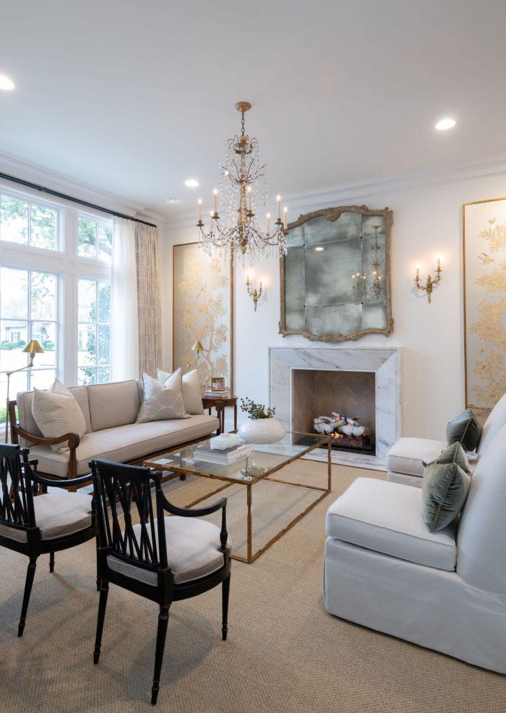 living room remodel in glen abbey dallas